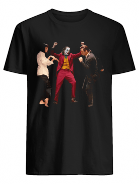 Joker Dance With Mia Wallace Vincent Vega Pulp Fiction Shirt