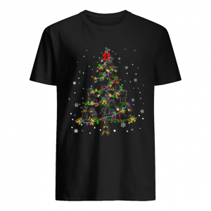 Manchester Terrier Christmas Tree T-Shirt Classic Men's T-shirt