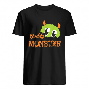 Mens Funny Daddy Monster Halloween Costume Gift Ideas Zombie Bone  Classic Men's T-shirt
