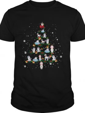 Merry Christmas Unicorn Tree Xmas Funny Unicorn Lover Gift TShirt