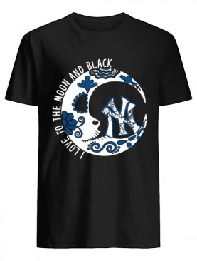 New York YanKees I love to the Moon and black