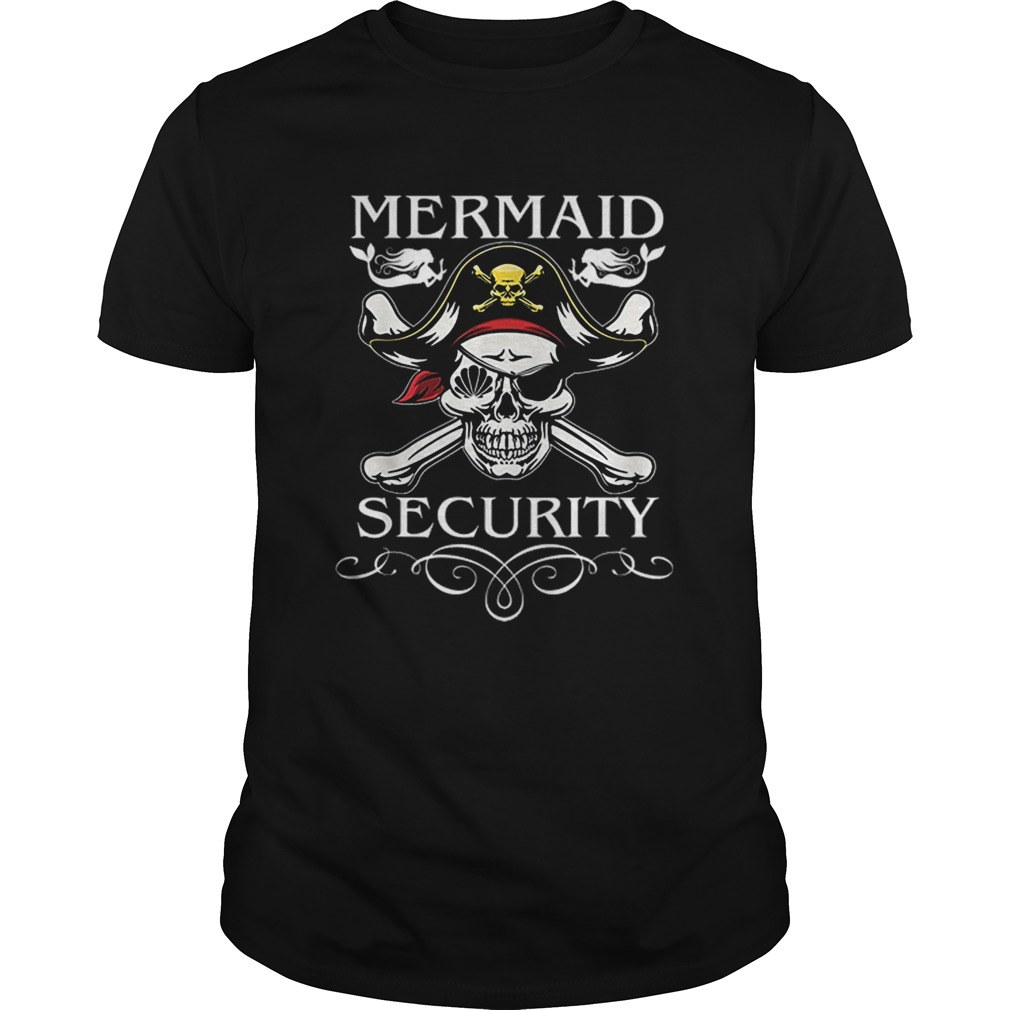 Nice Pirate Mermaid Security Funny Pirate day Costume shirt