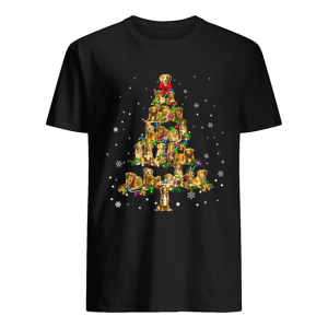 Nova Scotia Duck Tolling Retriever Christmas Tree T-Shirt Classic Men's T-shirt