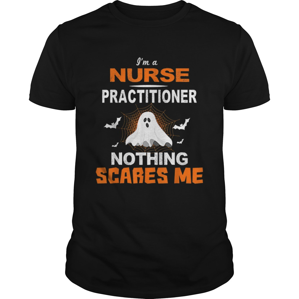 Nurse Practitioner Halloween Nursing Gift shirt