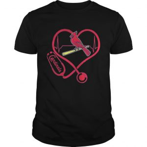 Nurse Saint Louis cardinals heart  Unisex
