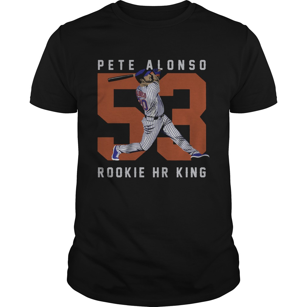 Official Pete Alonso Rookie Hr King shirt