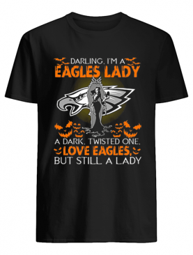 Philadelphia Eagles Darling I'm a Eagles lady love Eagles shirt