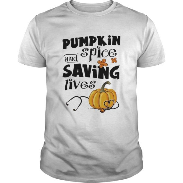 Pumpkin spice and saving lives Halloween  Unisex