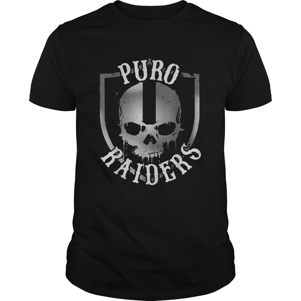 Puro Raiders skull shirt