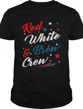 Red White Brew Crew Funny Drinking 4th Of July TShirt