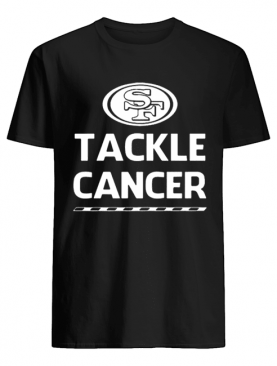 San Francisco 49ers Tackle Cancer shirt