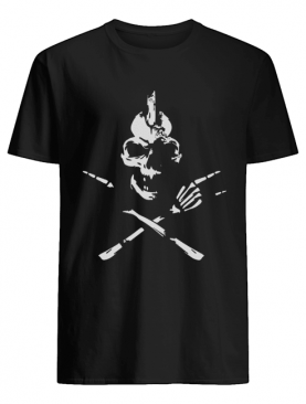 Skeleton Rocker Skull Shirt