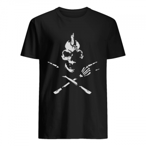 Skeleton Rocker Skull Shirt Classic Men's T-shirt