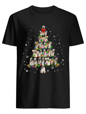 Soft Coated Wheaten Terrier Christmas Tree T-Shirt