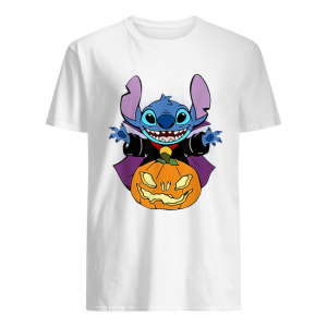 Stitch And Pumpkin Halloween  Classic Men's T-shirt