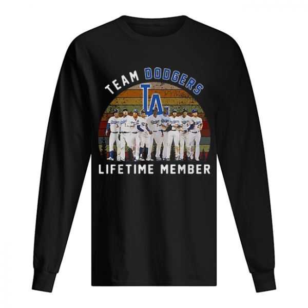 Team Los Angeles Dodgers lifetime member vintage  Long Sleeved T-shirt