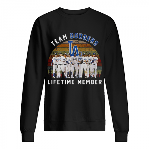 Team Los Angeles Dodgers lifetime member vintage  Unisex Sweatshirt