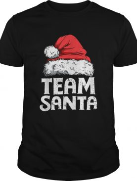Team Santa Christmas Family Matching Pajamas TShirt