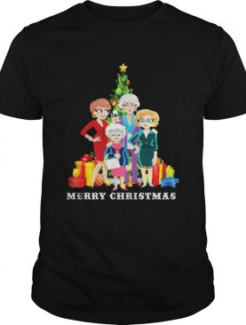 The Golden Girl Merry Christmas shirt