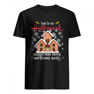 This Is My Hallmark Christmas Movie Watching Shirt Classic Men's T-shirt