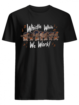 Whistle While We Work MLBPA Officially Licensed T-Shirt
