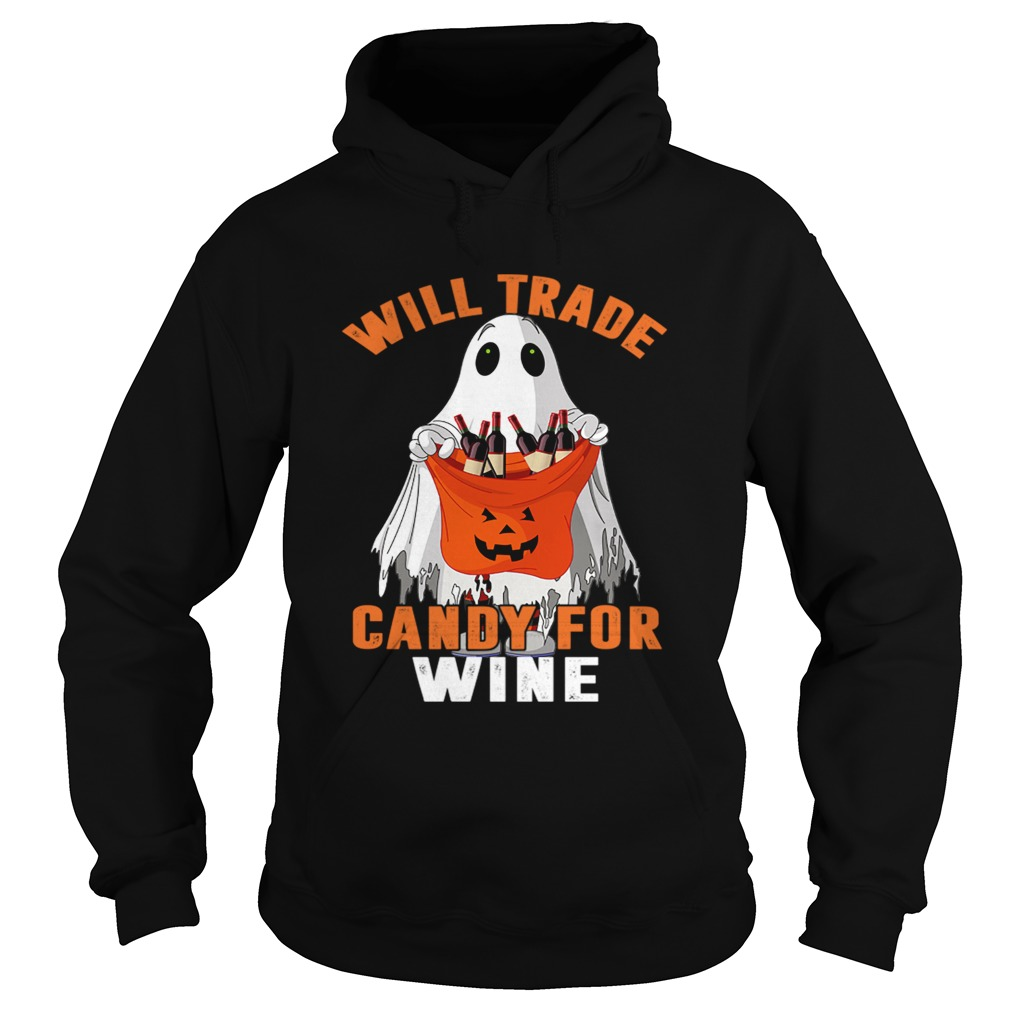Will Trade Candy For Wine Funny Wine Lover TShirt Hoodie