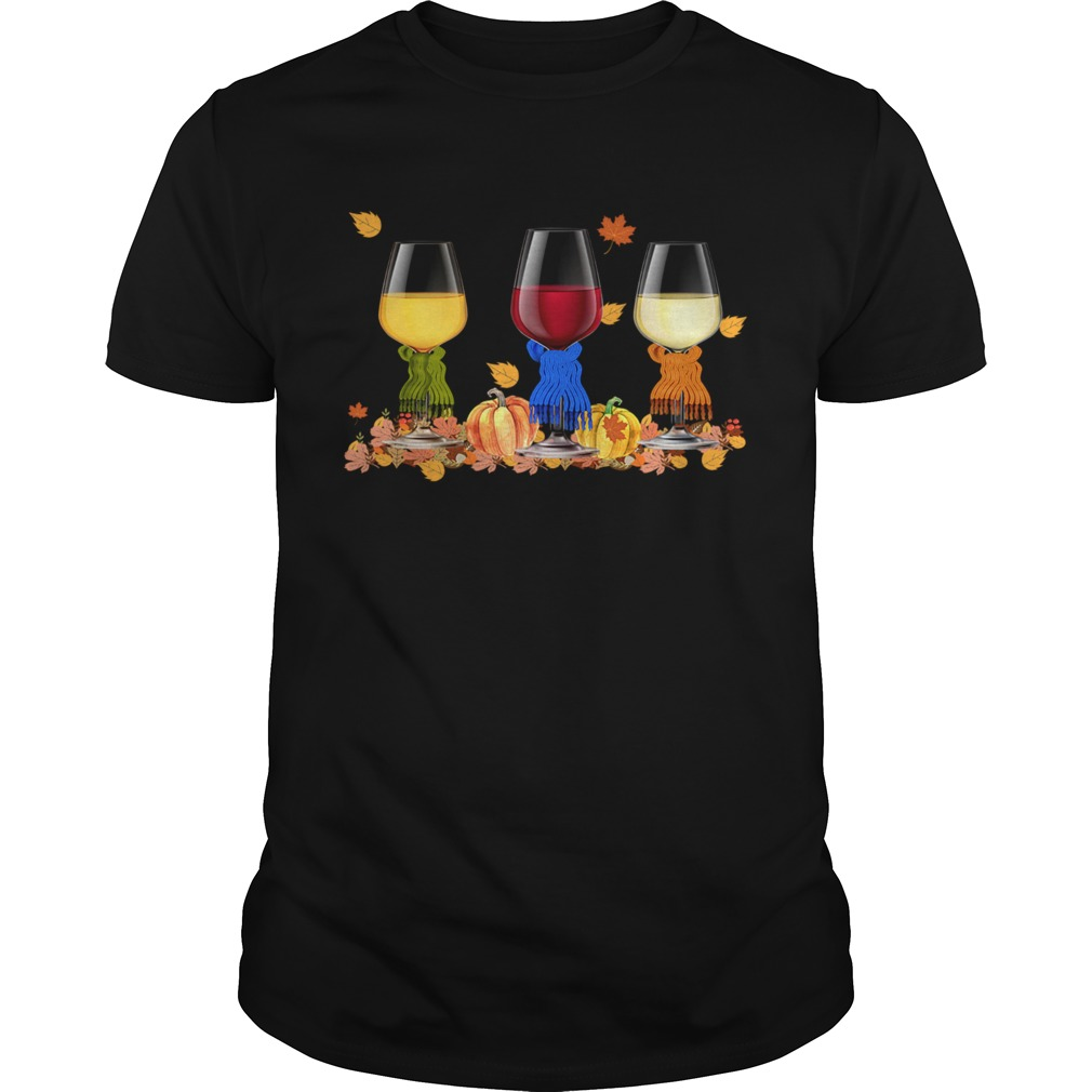 Wine Auturn Vibe Funny Wine Lover TShirt