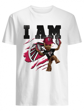 Baby Groot I Am Atlanta Falcons shirt
