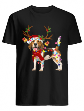 Beagle Gorgeous Reindeer Crewneck Christmas shirt