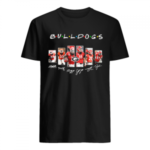 Bulldogs Friends Green Bay Packers TV Shows Signatures  Classic Men's T-shirt