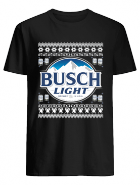 Busch Light Christmas shirt