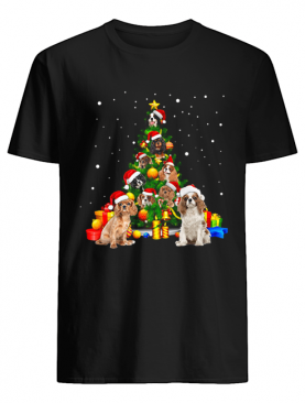 Cavalier King Charles Spaniels Christmas Tree shirt