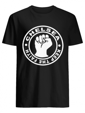 Chelsea Football Keep The Faith Logo shirt
