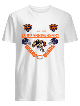 Chicago Bears 1920-2020 100th anniversary shirt