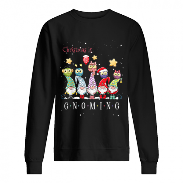 Christmas Is Gnoming Gnome Tomte Merry Christmas  Unisex Sweatshirt