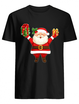 Cute Santa Claus Merry Christmas shirt