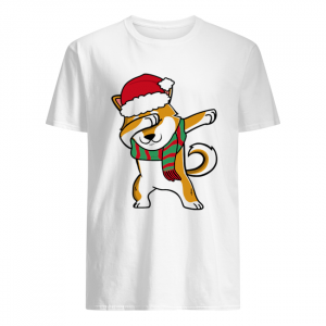 Dabbing Corgi Christmas Tee For Dog Lover  Classic Men's T-shirt