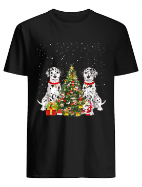 Dalmation Christmas tree dalmation costume shirt