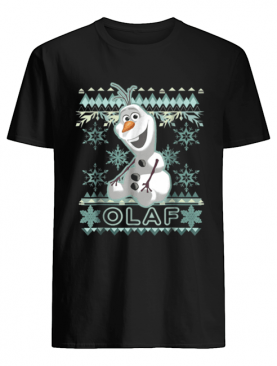 Disney Frozen Olaf Ugly Christmas Sweater Graphic shirt
