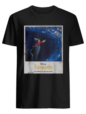 Disney Mickey Mouse Fantasia The Ultimate In Sight And Sound shirt