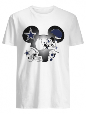 Disney Minnie Mouse Dallas Cowboys shirt