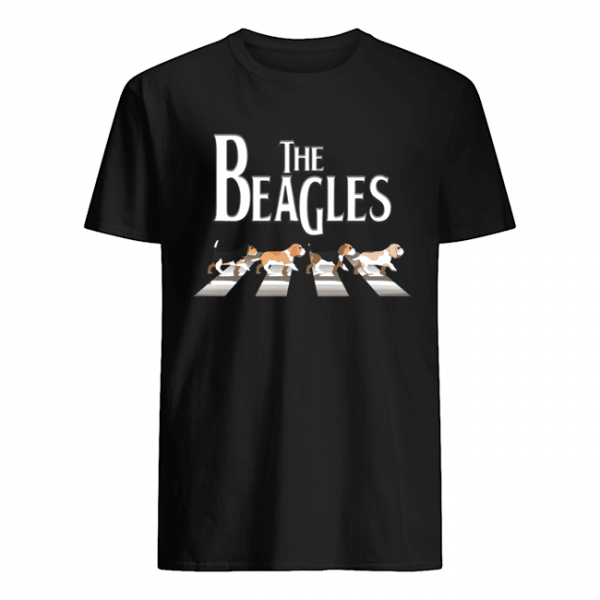 Dogs the beagles abbey road  Classic Men's T-shirt