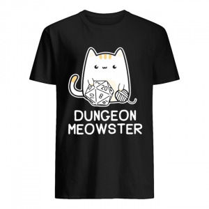 Dungeon meowster dungeons and dragons cat  Classic Men's T-shirt