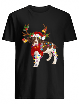 English Springer Spaniel Gorgeous Reindeer Crewneck shirt