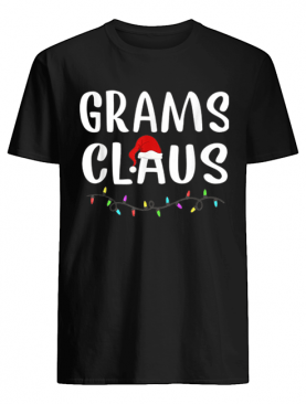 Grams Santa Claus Matching Family Christmas Gifts shirt
