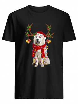 Great Pyrenees Gorgeous Reindeer Crewneck shirt
