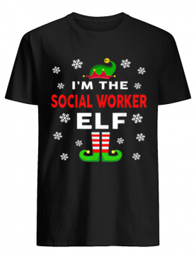 I Am The Social Worker Elf Christmas Sweater Gift Funny shirt