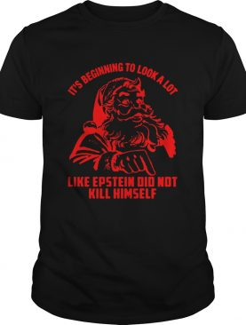 Its Beginning To Look A Lot Like Epstein Didnt Kill Himself Christmas shirt