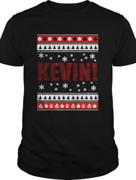 KEVIN Fun XMas Holiday Gift for Movie Lovers Ugly Christmas shirt