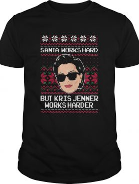 Kris Jenner Ugly Christmas shirt